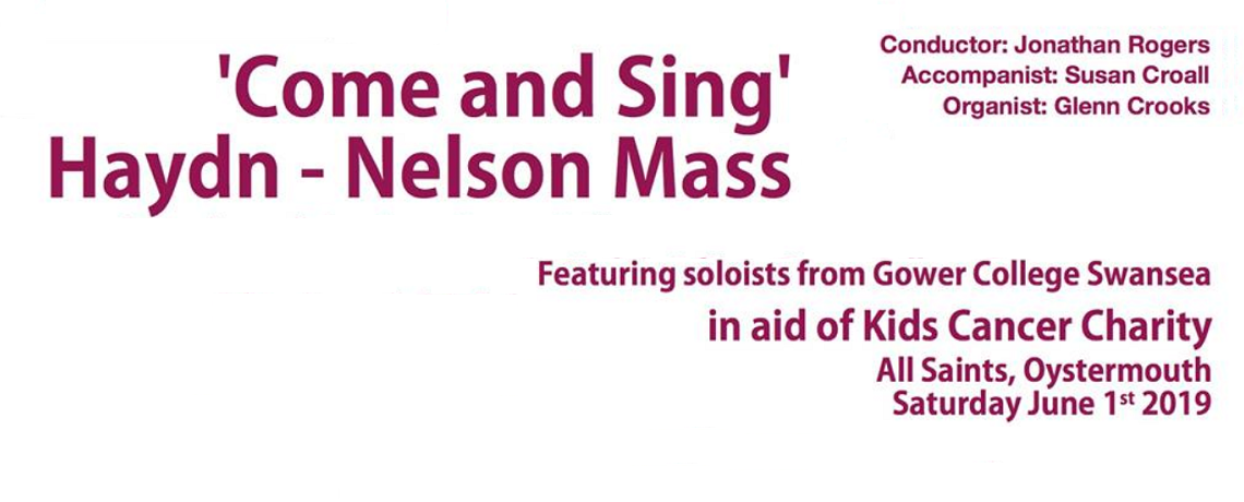 Come and Sing – 1st June 2019